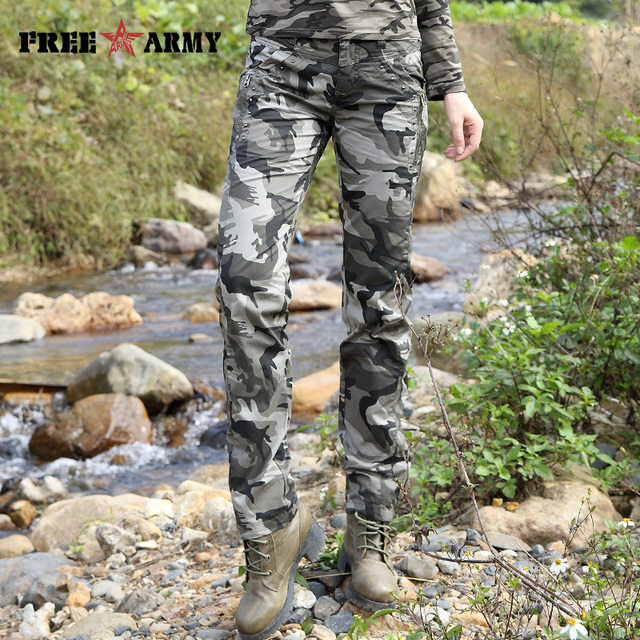 New Pattern Joggers Pants Women Summer Camo Casual Pants Military Army Trousers Straight Cotton Pants Capris GK-9522B