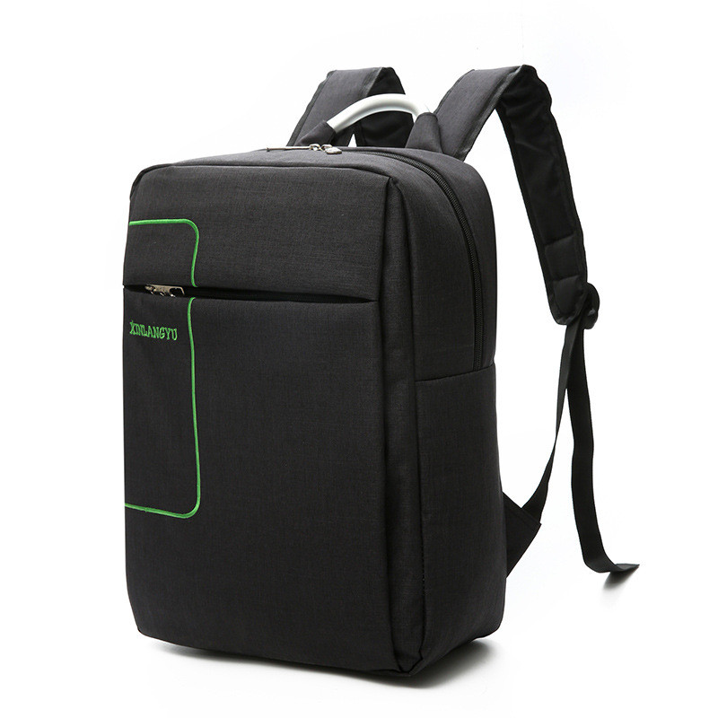 2018 New Style Casual Business Computer Backpack Bag School Bag For Teenager Softback Zipper Men Outdoor Gym Sports Backpacks