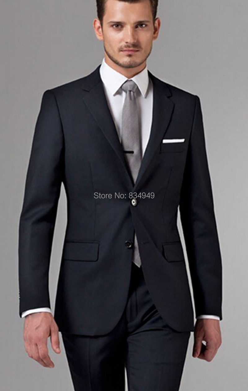 Popular Men Black Suits-Buy Cheap Men Black Suits lots from China
