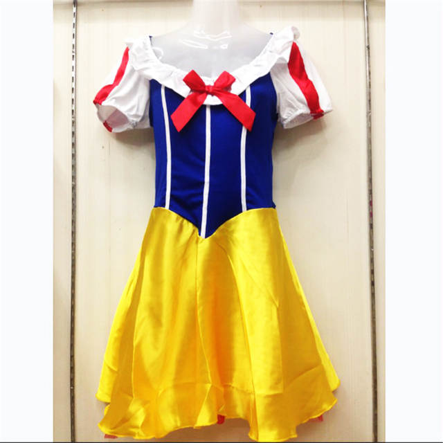 Online Shop 2018 new Plus Size Adult Snow White Costume Fairy tale Clothes  high quality cosplay Dress Carnival Halloween Costumes For Women  785ef5c528a9