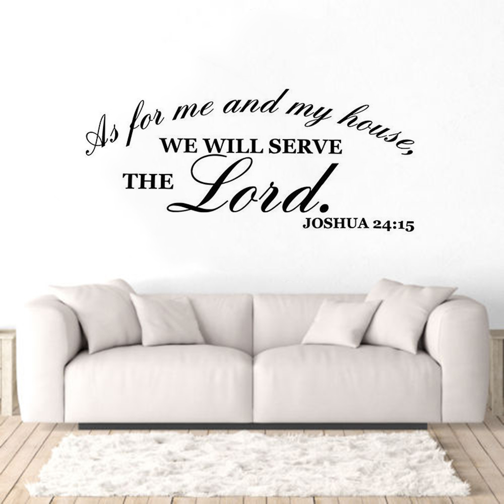 God is great God is good Vinyl Wall Art Words Decals Stickers Decor religious