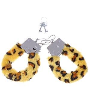 Image 3 - اكسسوارات مثيرة مثيرة مع حزمة قطيفة قابلة للتعديل أصفاد للعبد صنم لعب الأدوار BDSM عبودية لعبة الجنس للأزواج