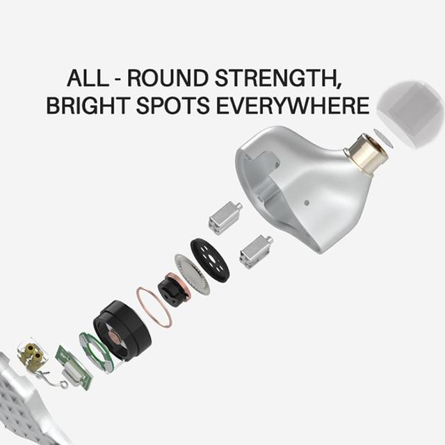 TFZ S7 1DD+4BA Hybrid Technology HiFi Monitor Earphones with Detachable Cable 3