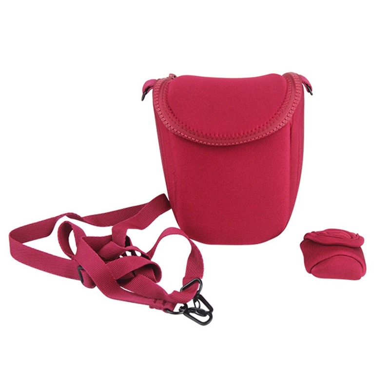 Waterproof Soft Camera Bag Case With Strap For Canon Eos M100 M50 M10 M6 M5 M3 M2 G1Xiii G1Xii Sx530 Sx540 Sx430 And For Panas