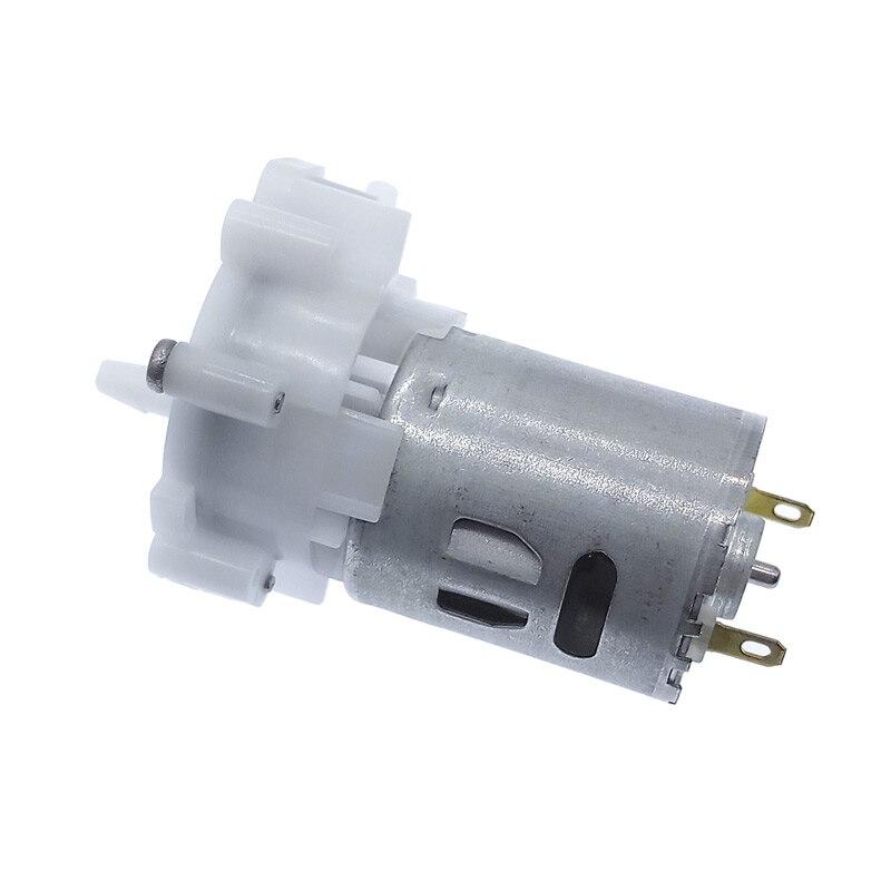 DC3-12V Electric Aquarium Self-priming Motor Pump RS-360SH Miniature Water Pump Pumping Gear Motor