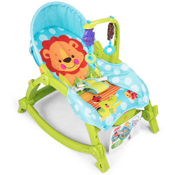 Newborn baby rocking chair, to appease baby sleep can sit can lie cradle, fold baby rocking chair with music baby rocking chair bb electric rocking chairs shaker can lie flat cradle to appease the rocking chair to coax sleep swing