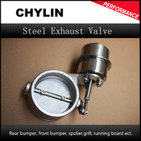 Stainless Steel Exhaust Control Valve Set Boost Actuator OPEN Style 51mm Pipe Pressure: about 1 BAR TK CUT51 OP BOOST