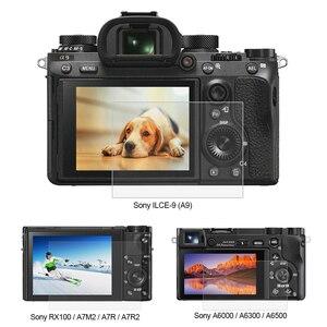 Image 1 - بولوز 1 قطعة 9H الزجاج المقسى LCD واقي للشاشة فيلم مناسبة لسوني ILCE 9 A9 A6000/A6500 RX100/A7M2/A7R/A7R2 كاميرا
