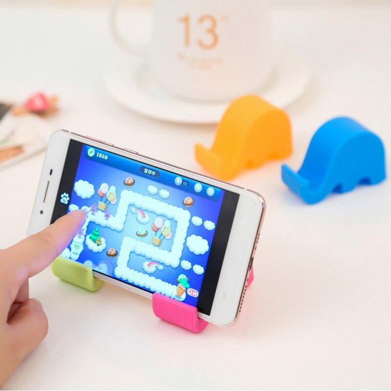 Cute elephant rack phone holders for Home deco 3
