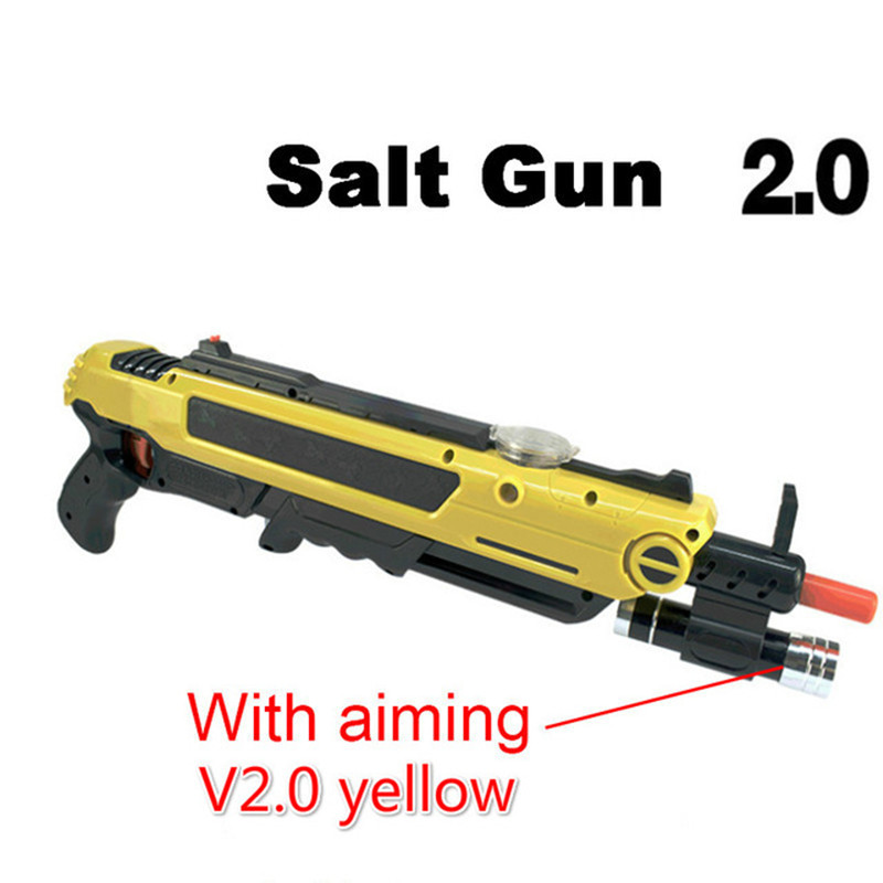Kreative bug eine salz fliegenfalle Gun Salz Pfeffer Kugeln Blaster Airsoft für Bug Schlag Gun Moskito Modell Spielzeug Pistole weihnachten geschenke