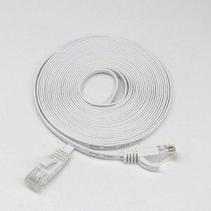 Image 5 - Câble HDMI HDMI CAT6 Ethernet réseau LAN câble plat UTP Patch routeur intéressant Lot 15M extension 0508
