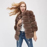 Fashion Long Sleeve Faux Fur Coat Elegant Night Club Celebrity Party Evening Fashion Greatcoat Winter Coat Women