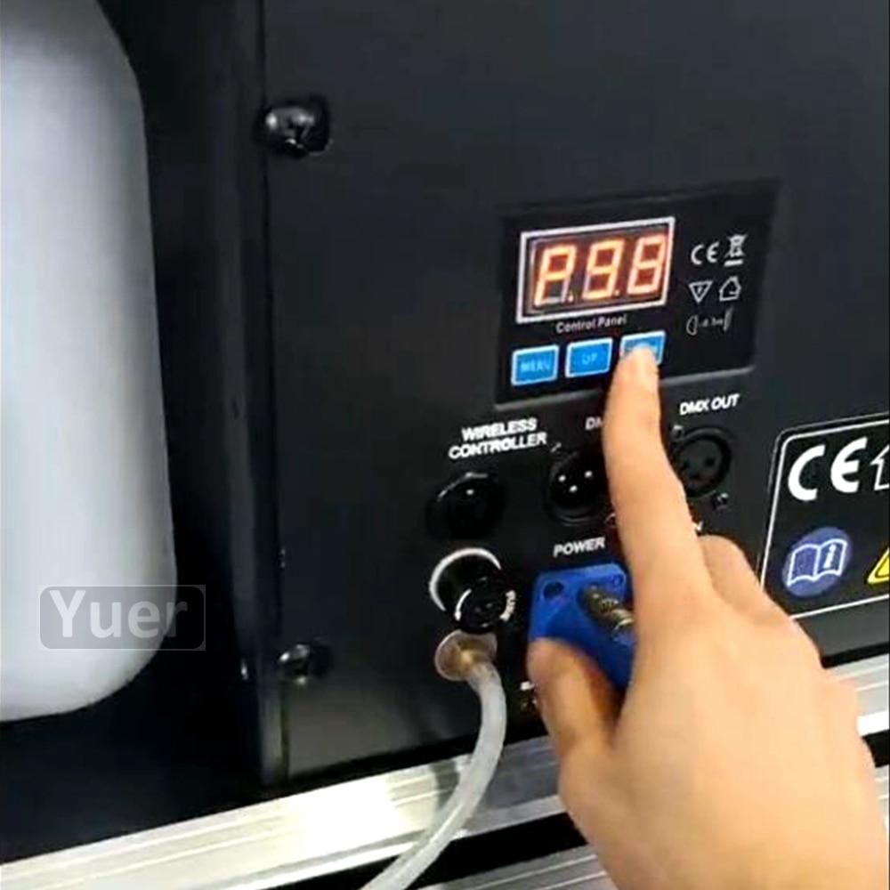 Profissional Palco DMX 512 1500W Fogger Para