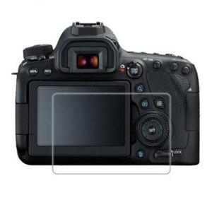 Image 1 - واقٍ زجاجي مقسى لكاميرا Canon EOS 6D Mark II Mark2 MK2 Markii 6D2 6DII شاشة LCD طبقة رقيقة واقية حماية الغطاء