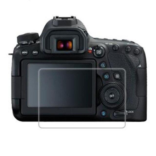 واقٍ زجاجي مقسى لكاميرا Canon EOS 6D Mark II Mark2 MK2 Markii 6D2 6DII شاشة LCD طبقة رقيقة واقية حماية الغطاء
