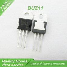 Free shipping 10pcs/lot BUZ11 TO-220 50V 33A new original free shipping 10pcs lot tk13a60d k13a60d n channel to 220f new original