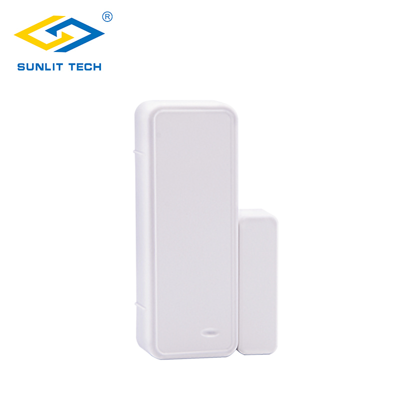 433MHz Two-way Magnetic Sensor Wireless Door Window Alarm System For Home Security Wifi Door Open Switch Detector For G90B Plus