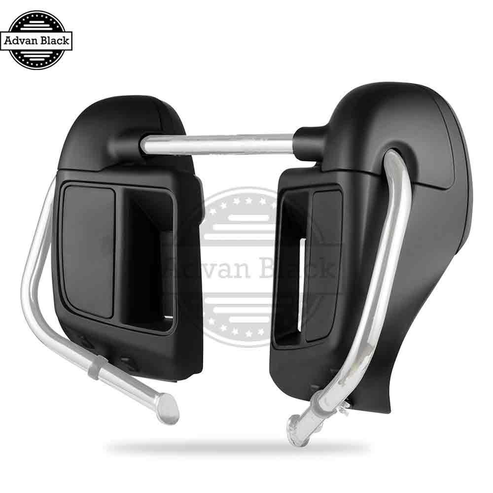 Advanblack Color Matched Denim Black Lower Vented Fairings For 2014 Advan S5j Smartphone Quadcore 2017 Harley Davidson Touring Flhr Flhxs Fltrx Us53