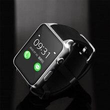 Gt88 bluetooth reloj inteligente para ios iphone 6 6 s plus sí 7 para Samsung Xiaomi Smartwatch Sincronización de Reloj Notificador Apoyo TF Tarjeta reloj