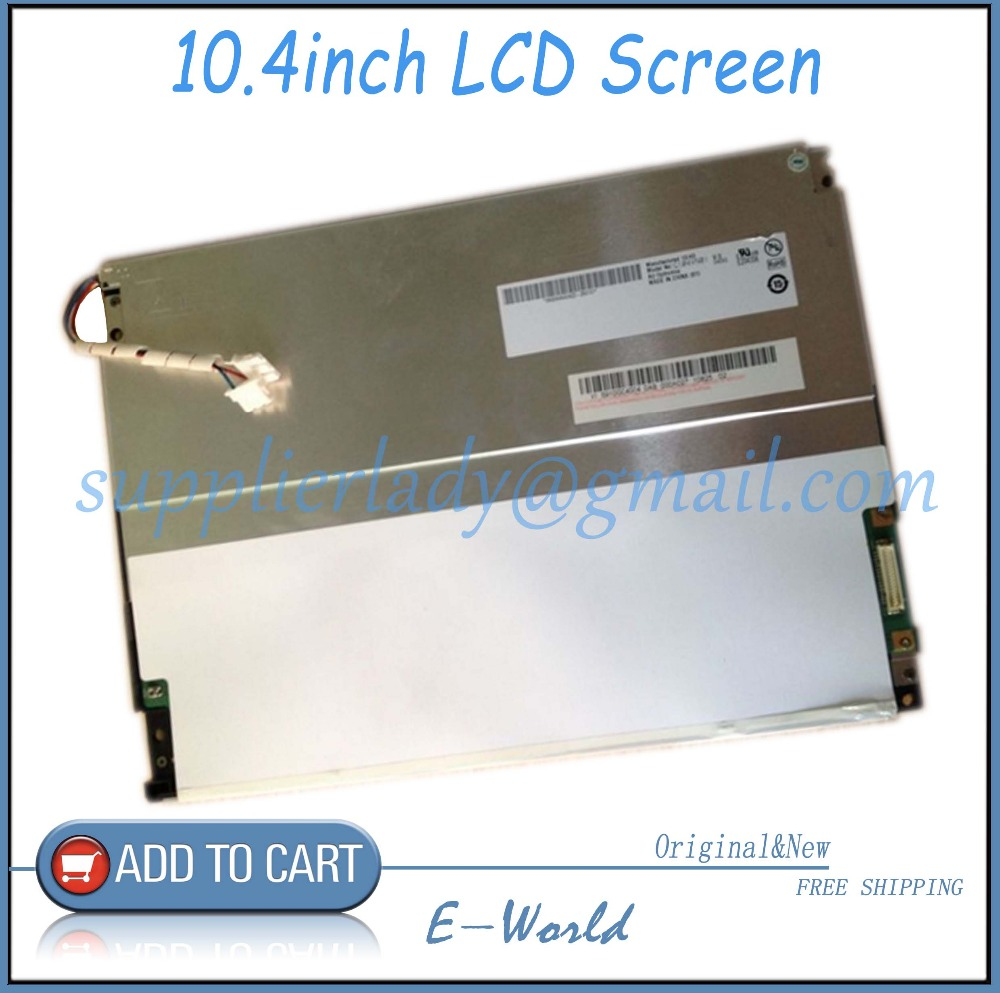 Original Au g104vn01 v.0 industrial lcd screen free shipping free shipping 10pcs au screen main chip auo 003 lcd screen chip new original