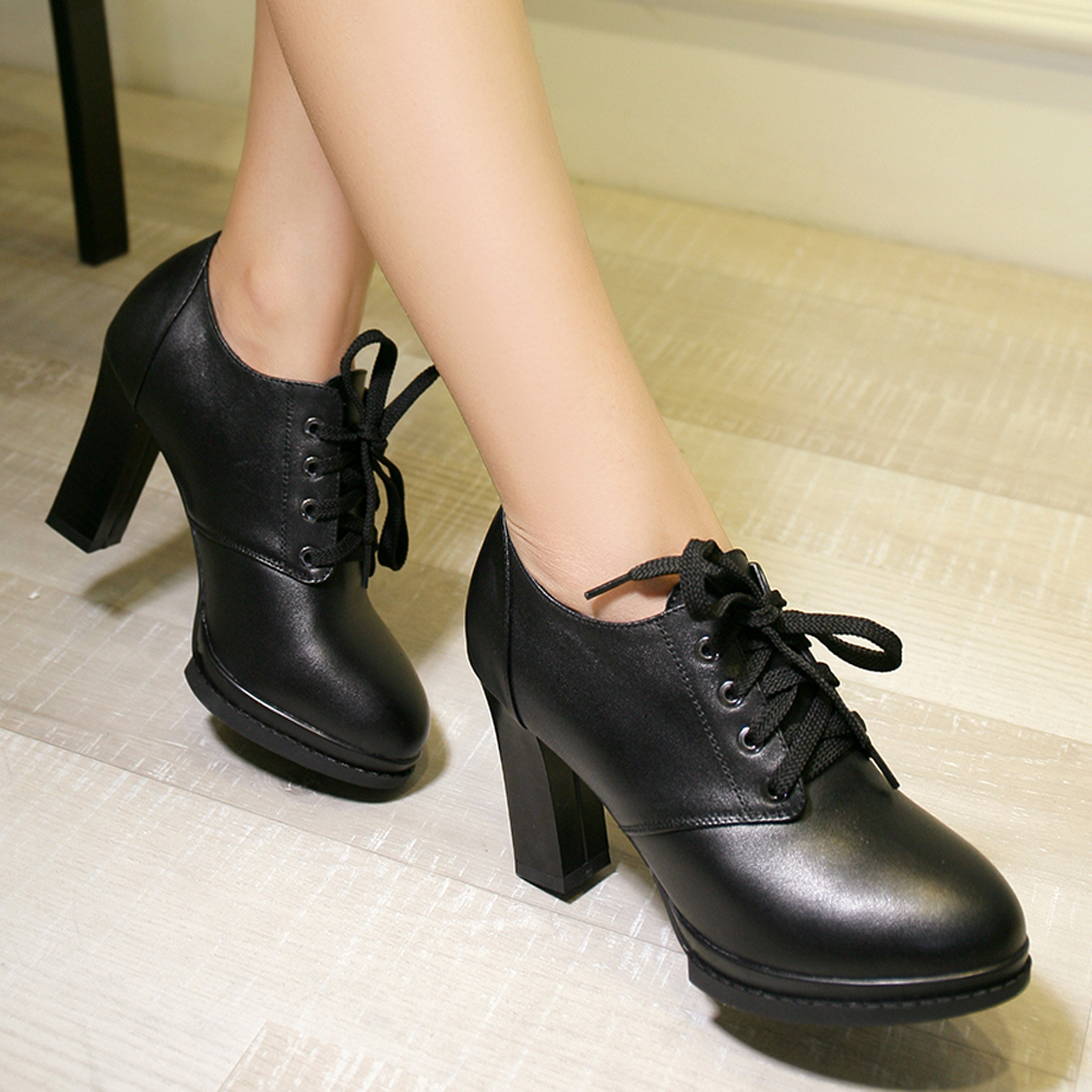Small Black Heels - Is Heel