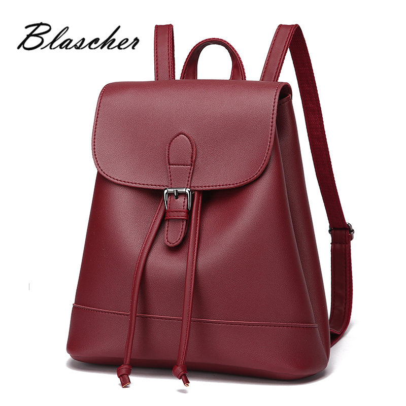2017 fashion Women Backpack High Quality PU Leather mochila designer bags summer Backpack WB007