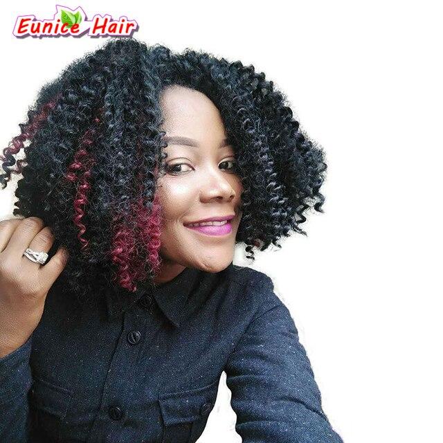 Synthetic Braiding Hair Crochet Hair Extension Deep Wave Bulk Hair 3