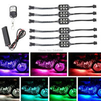 6 In 1 Motorcycle LED Decoration Pod Lights Kit Daytime Running Lights For Harley Knight Motorcycle