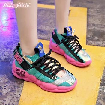 2019 moda verano mujer zapatillas otoño grueso mujer zapatillas mujer plataforma zapatillas zapatos zapatos de lona zapatos de mujer 1
