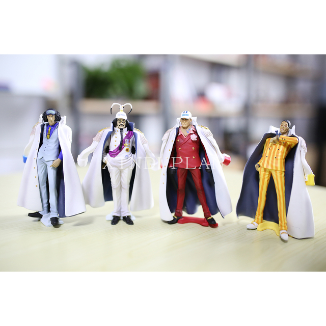 One Piece Anime Navy Admiral New World Action Figure Toy