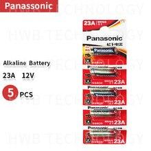 5 штук в партии, Новое поступление, для детей от 12V Panasonic A23 23A Ультра щелочные батареи/сигнал тревоги батареи