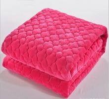 Invierno espesar coral abajo sábanas manta de terciopelo doble manta manta cama del dormitorio estudiantil Farley manta de franela