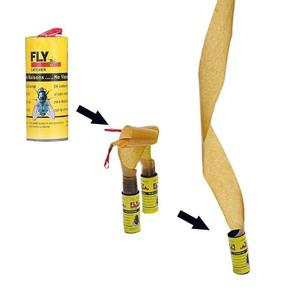 Image 3 - Sticky Fly Linten Roll Dual Zijdig Vliegt Papier Strips Insect Bug Home Lijm Flytrap Catcher Bug Mosquito Killer