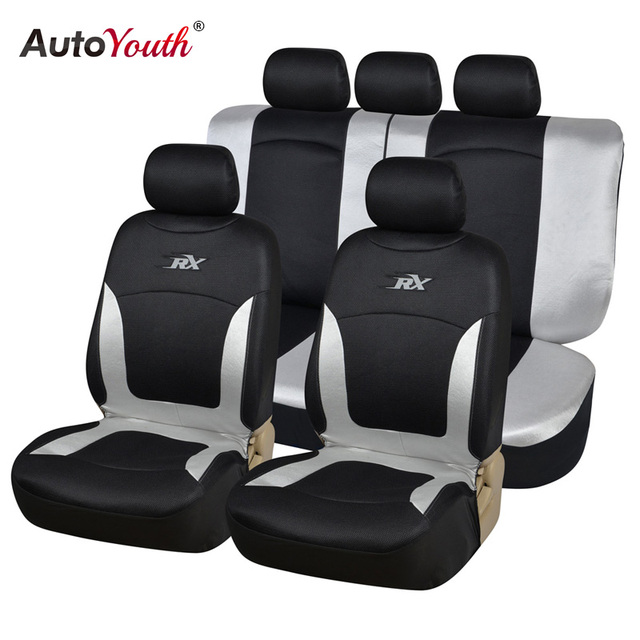 AUTOYOUTH Comfortable Breathable Mesh Fabric Car Seat Covers ...