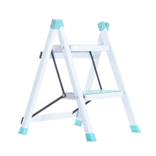 Ladder. Two-Step-Ladder/pedal To The Ascend Herringbone Height Increase-The-Height of