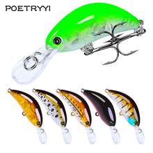1Pcs Minnow Fishing lure 55mm 5g Crankbait Wobblers Artificial Hard Bait Deep Sea Bass Lure Plastic Fish Fishing Tackle 30 стоимость
