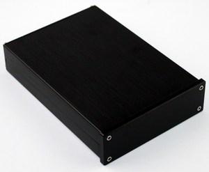 Image 3 - Kyyslb preto painel frontal wa42 completa de alumínio digital amplificador chassi dac decodificador amplificador caso