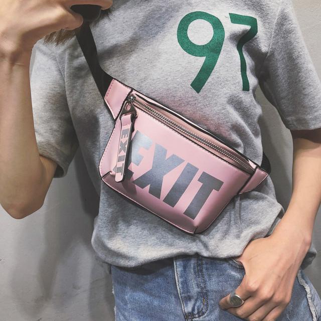 Women's Elegant Belted Bag