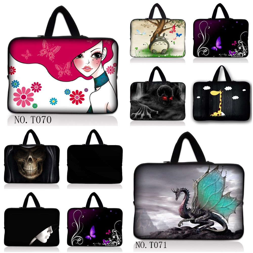 "Hot Notebook Bag Smart Cover Tablet Bag Laptop Sleeve Case For 7"" 10'' 12 '' 13 '' 14 '' 15'' 17'' Macbook Hp Dell Laptop Bag"