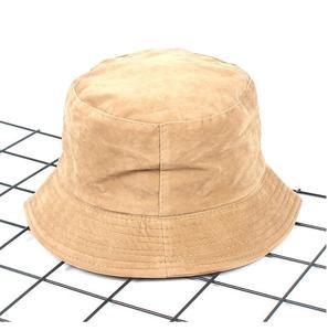 2018 novo outono inverno balde chapéu de veludo unisex moda bob bonés hip hop gorros masculino panamá quente à prova de vento balde chapéu