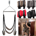 1 pcs/set(sex swing+metal triangles) adult sex furniture belted swing bdsm bondage love swings chairs restrain game erotic toys