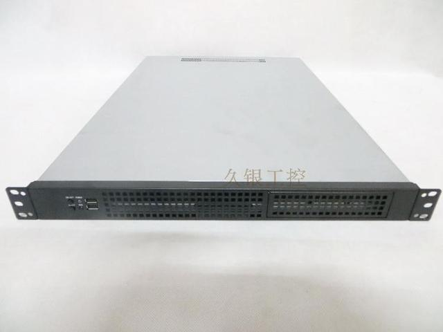 Server Chassis 1U 650mm Lengthen support dual motherboard rack mount computer case IDC data