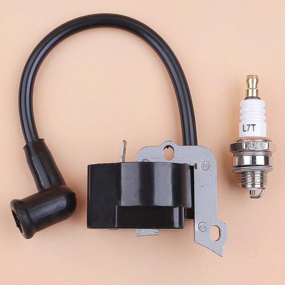 Ignition Coil Spark Plug Kit Fit STIHL FS55 FS55C FS46 FC55 FS38 FS45 FS55 HL45 HS45 KM55 Trimmer Brushcutter # 4140 400 1308