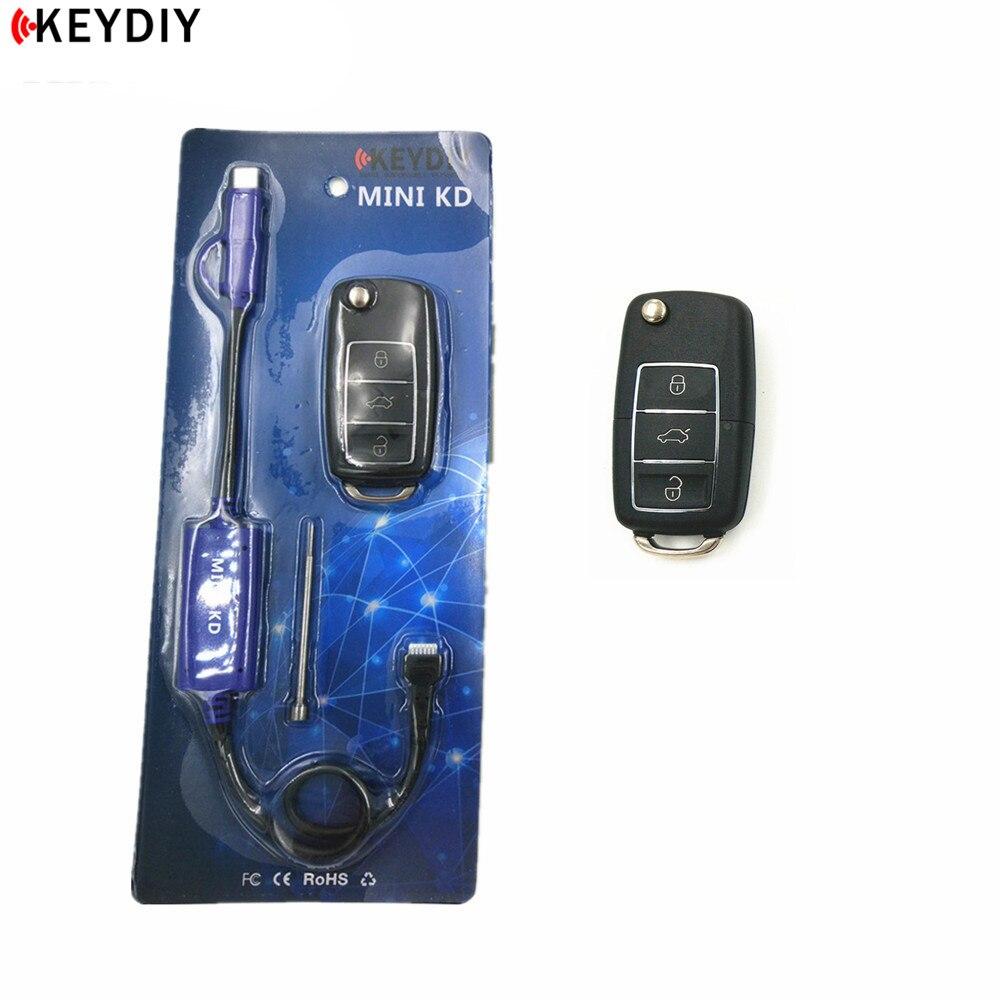KEYDIY Mini KD générateur de clé télécommande entrepôt dans votre téléphone Support Android faire plus de 1000 télécommandes automatiques avec 2 pièces clés