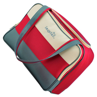 HOT SALE insular Unique Color Multifunctional Diaper Bag Waterproof Mami Bag With High Quality Accessories Red