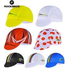 ROCKBROS-Gorra para ciclismo para hombre, forro para Gorro con casco de bicicleta, transpirable, algodón, banda elástica, gorra de ciclista