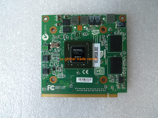pilote carte graphique nvidia geforce 8400m gt