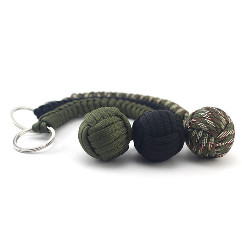 Top SaleLanyard Keychain Weapon-Rope Self-Protection-Weapon Self-Defense Outdoor Multi-Functional