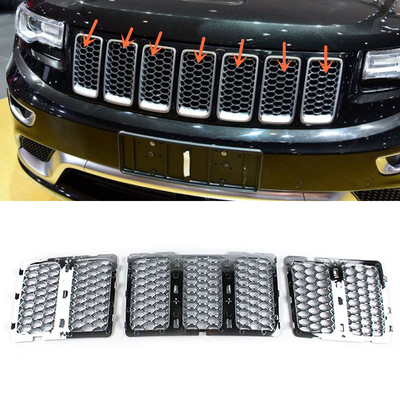 ���for Jeep Grand Cherokee Srt8 20142016 Abs Front Grille Mesh Vent Rhsitesgoogle: 2006 Lexus Rx330 Mag Ic Clutch Relay Location Diagram At Gmaili.net