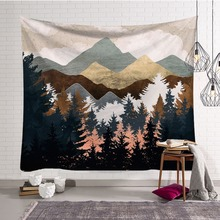Nordic style ins background cloth Background wall decoration fabric polyester Tapestry Home decor mural Beach towel shawl